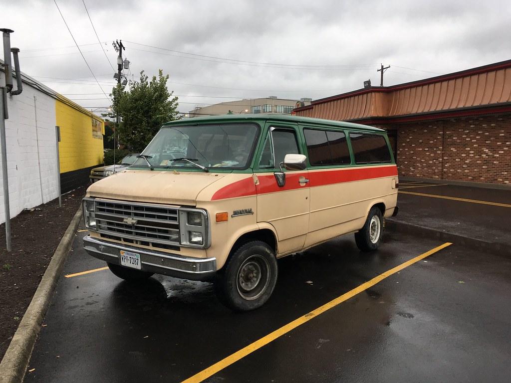 Old Chevy Van >> Old Chevy Van In Roanoke Dieselducy Flickr