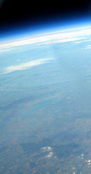 VCSE - A képen a Fertő-tó környéke látszik
