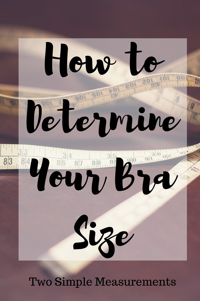 Do you know your proper bra size? These two measurements will make sure you are fitted properly!