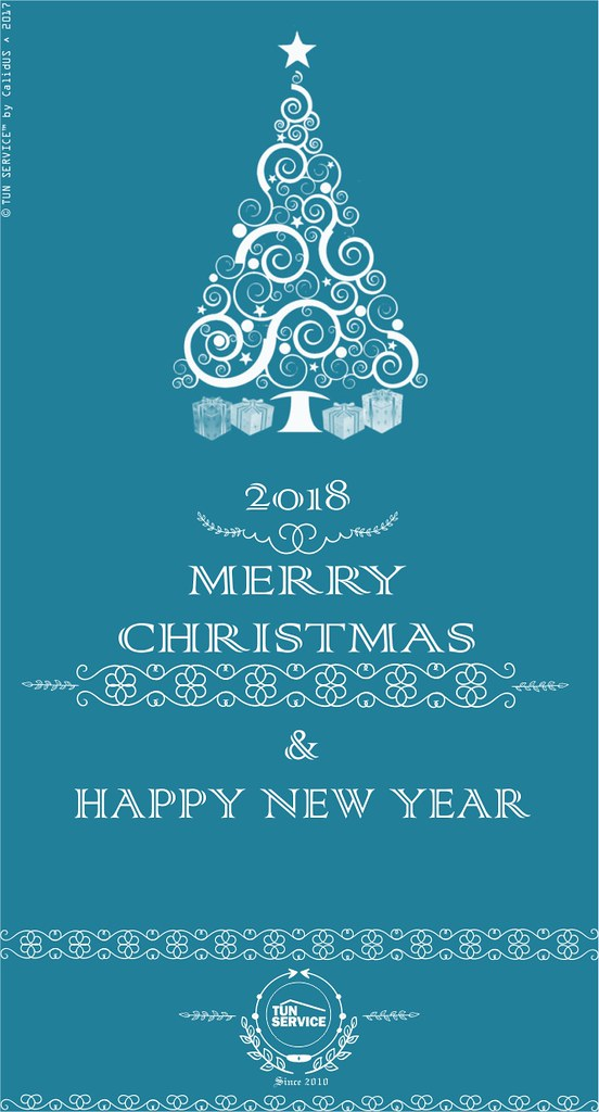 Tun Service- Merry Christmas- card-2018-happy-new-year | Flickr