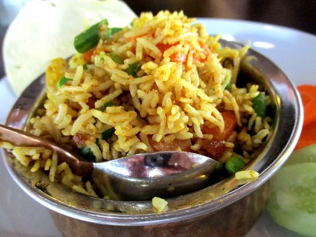 Cafe IND vegetable bryani