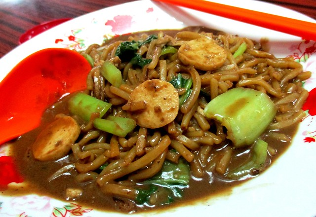 Foochow fried noodles, moon