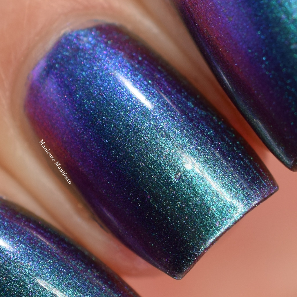 Tonic Polish Peacock Parade swatch