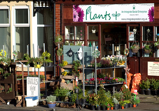 Charity flower shop in Preston | by Tony Worrall