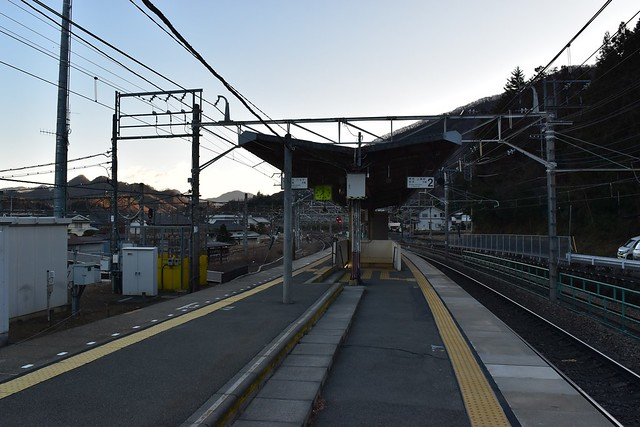 JR初狩駅ホーム