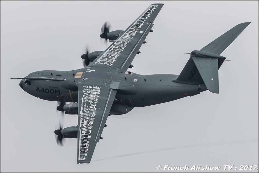 Airbus A400M Atlas , Airbus Military , Royal International Air Tattoo 2017 , Air Tattoo – RIAT 2017 , Fairford , UK Airshow Review 2017 , Meeting Aerien 2017