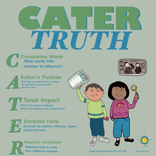 Cater Truth; Combat Bias | by teach.eagle