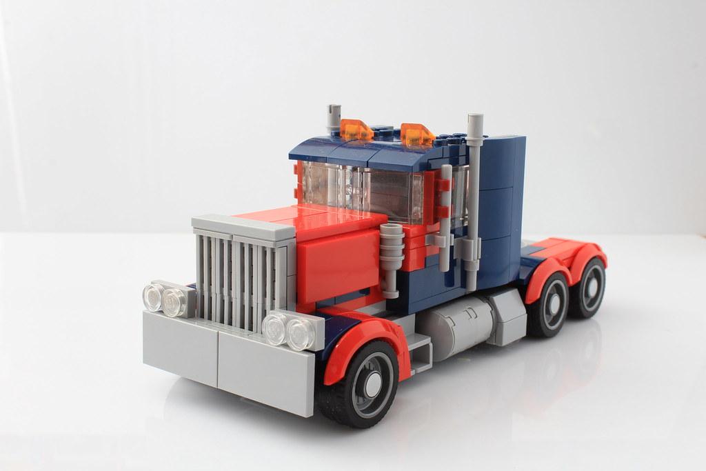 lego optimus prime instructions