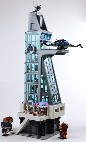 Avengers Tower | by Gzu's Bricks
