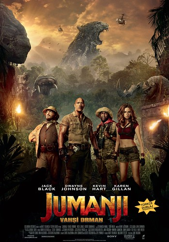 Jumanji: Vahşi Orman - Jumanji: Welcome to the Jungle (2017)