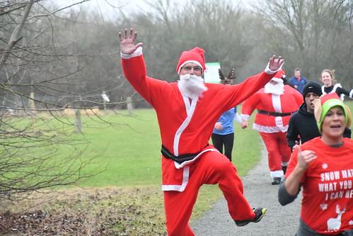 Flying Father Christmas!