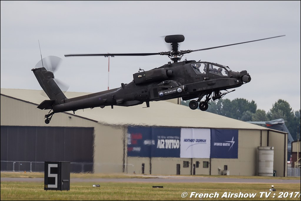 Boeing AH-64 Apache Longbow , Helicopters , Royal International Air Tattoo 2017 , Air Tattoo – RIAT 2017 , Fairford , UK Airshow Review 2017 , Meeting Aerien 2017