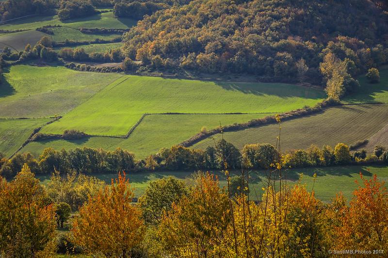 Colores de otoño en el valle del Urederra
