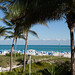 Peek of Miami Beach from roof deck of the cabana