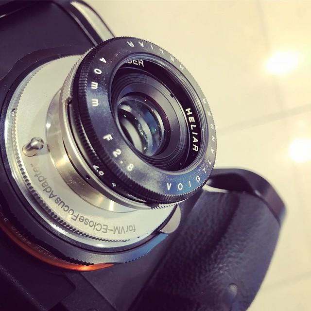 Heliar 40mm f2.8 神奇之作