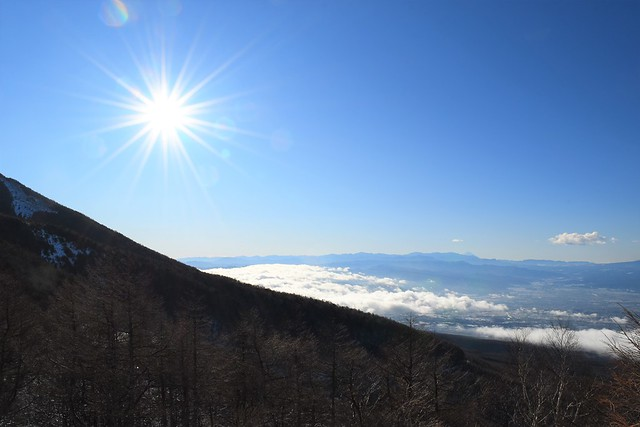 高峰高原ホテルからの雲海