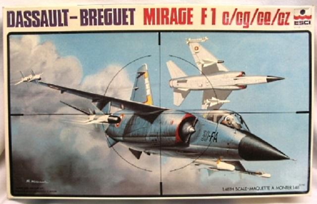 *Renaissance en-cours* Dassault Mirage F1 [ESCI 1/48] 27463977779_df87eebdb5_o