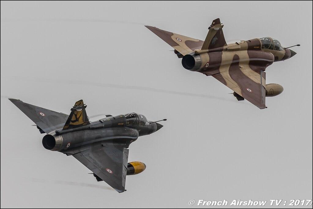 Couteau Delta Tactical Display - Mirage 2000 D , patrouille de l'armée de l'air , couteau delta 2017 , Royal International Air Tattoo 2017 , Air Tattoo – RIAT 2017 , Fairford , UK Airshow Review 2017 , Meeting Aerien 2017