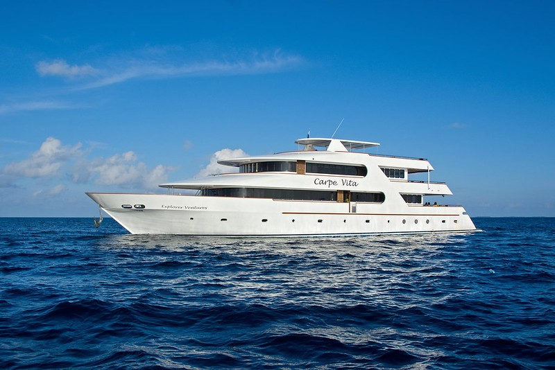 Carpe Vita Barco de buceo Maldivas