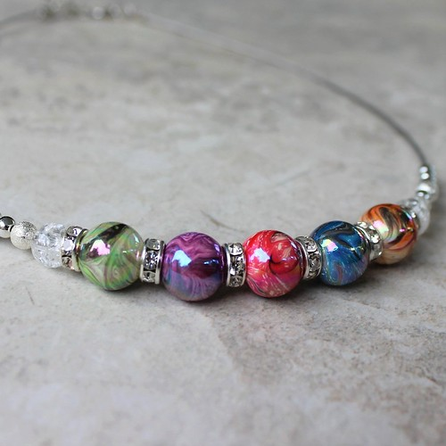 gifts Colorful necklace!...