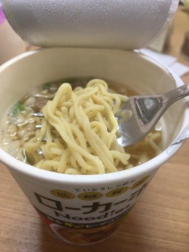 ローカーボ カップ麺
