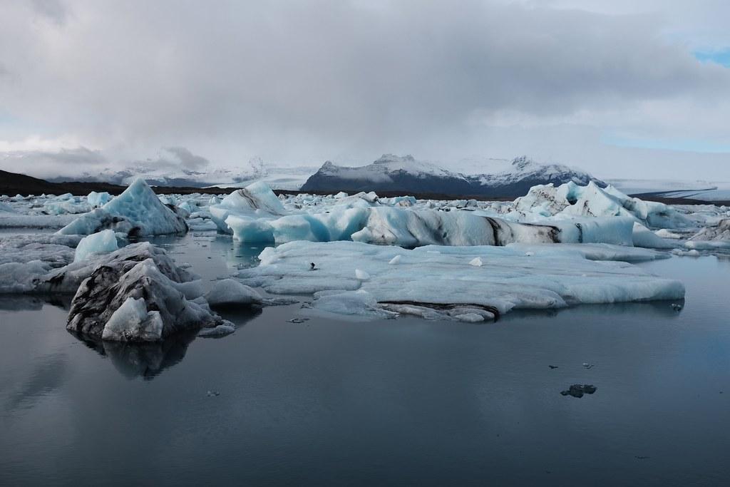 冰島冰河。圖片來源:Juan Davila(CC BY-NC-ND 2.0)。