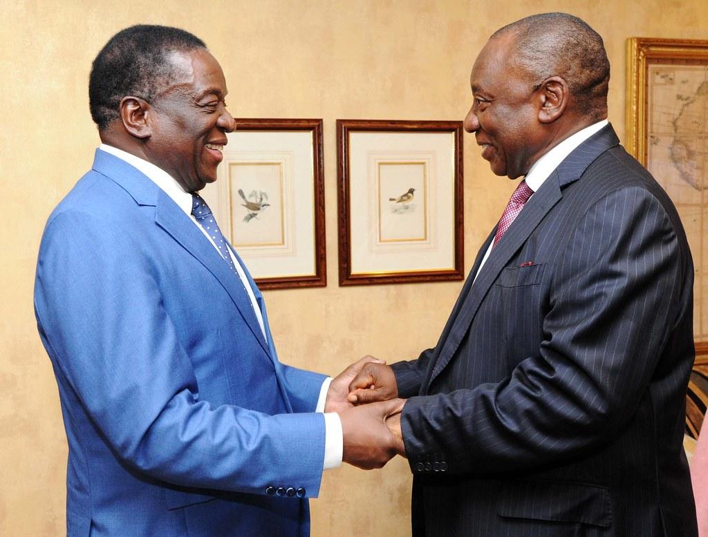 President Mnangangwa Of Zimbabwe Visits South Africa 21 D Flickr