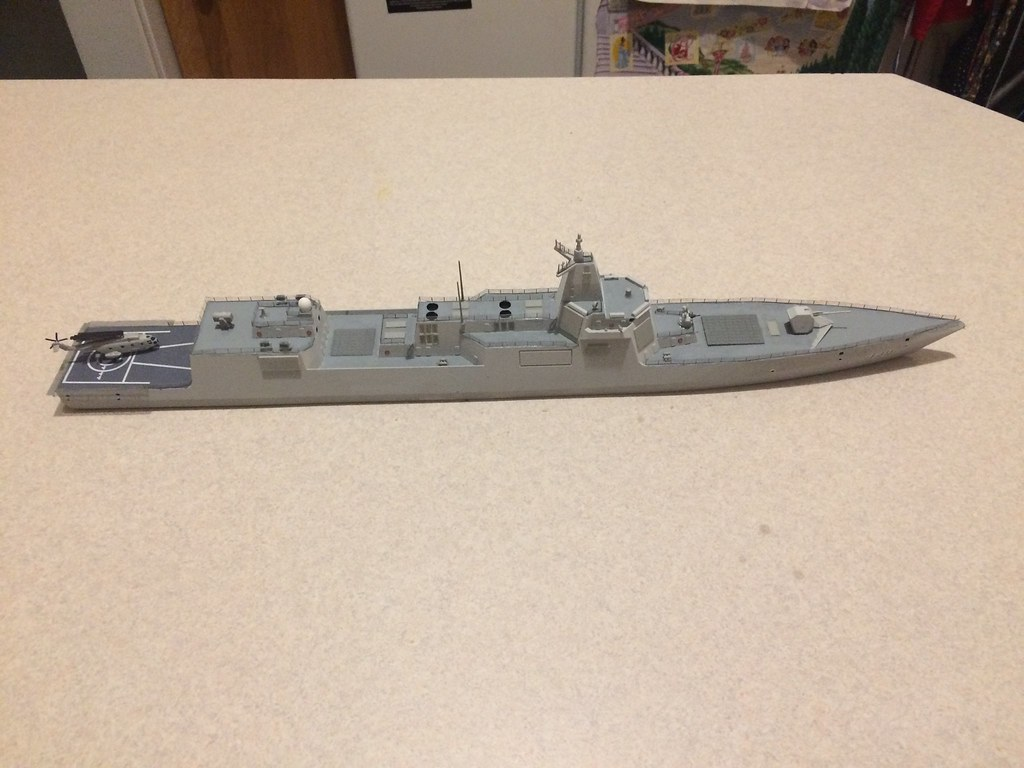 Finished model 5