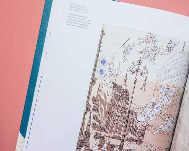 the illustrated dust jacket - inside detail