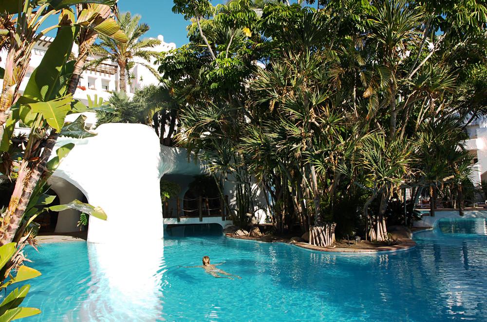 Swimming Pool Hotel Jardin Tropical Costa Adeje Tenerif Flickr