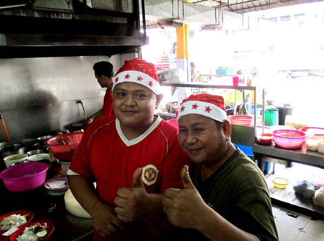 Hua Kee, Selangau - in the Christmas mood