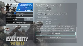 Call of Duty WWII: Tournaments on PS4 | by PlayStation.Blog