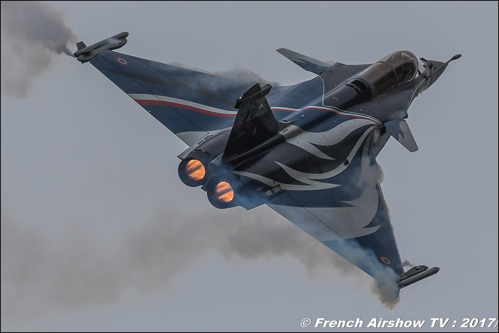 Rafale Solo Display Alpha ,Royal International Air Tattoo (RIAT) 2017