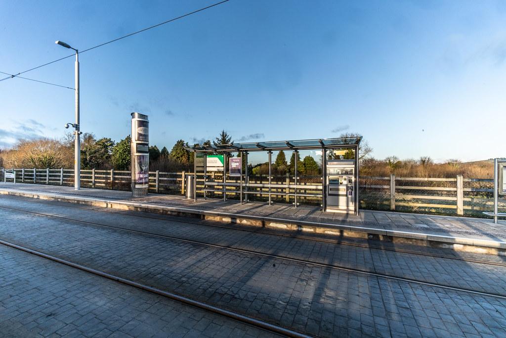 LAUGHANSTOWN TRAN STOP IN DUBLIN 006
