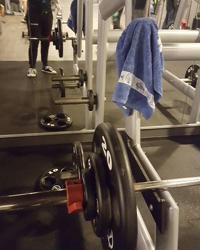 gymrat 5x5 row @ 72,5 kg - one kg...