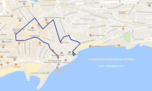 CABALGATA REYES MAGOS SITGES 2018