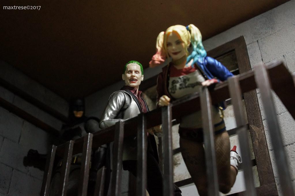 SH FIguarts Joker Harley Mafex Batman