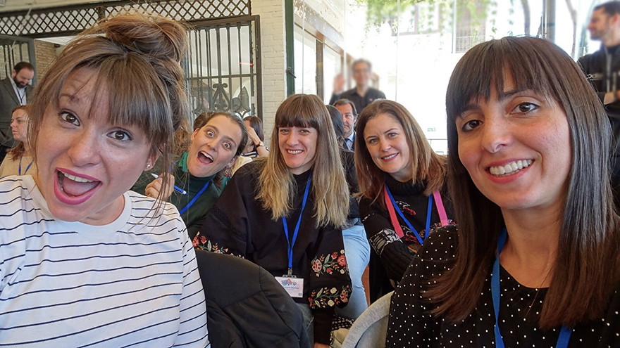 Bloggers en el Blogtrip de Puleva