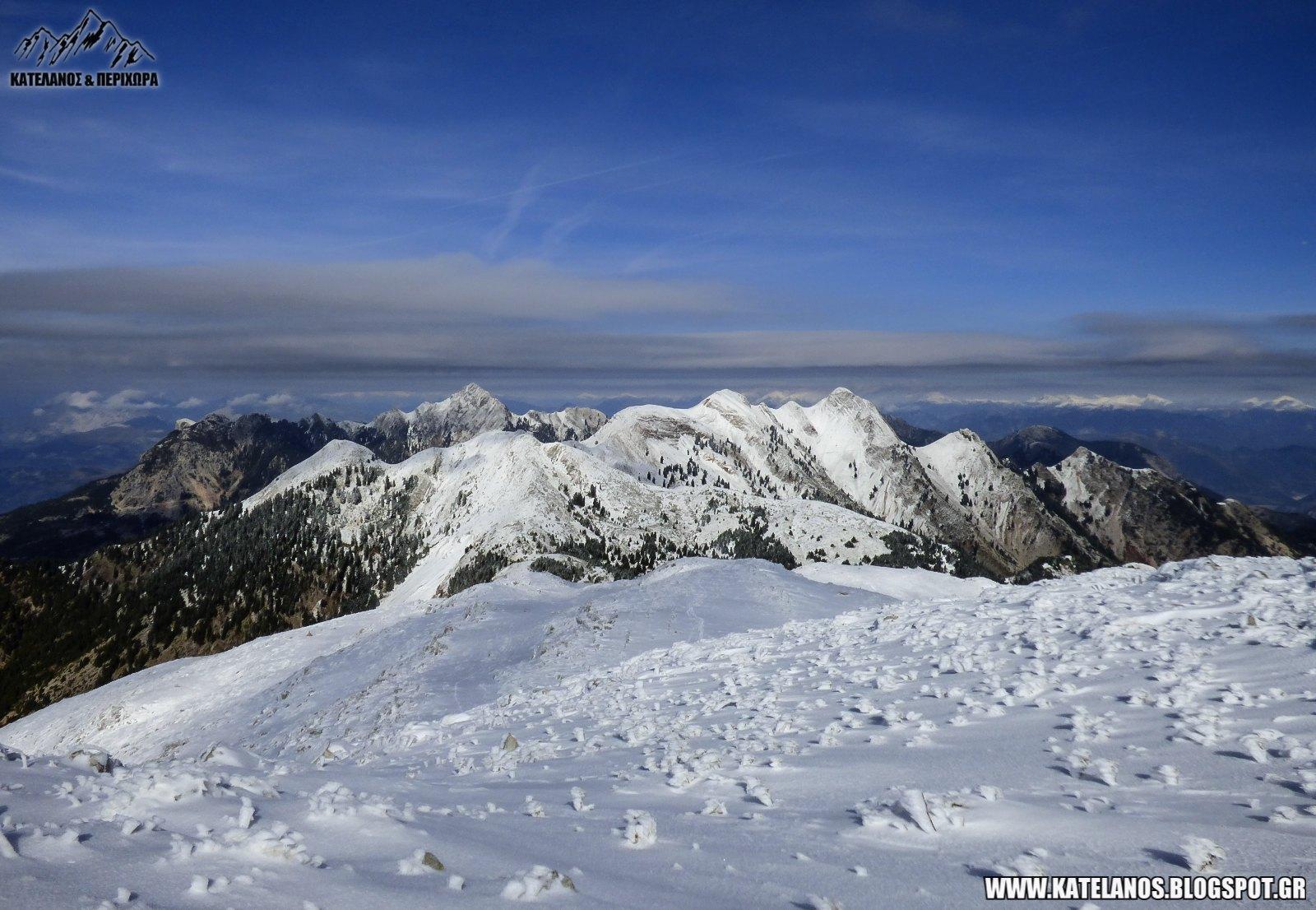 παναιτωλικο ορος βουνα αιτωλοακαρνανιας