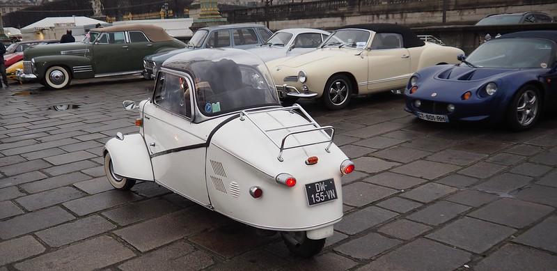 Messerschmitt 1958 - Paris Janvier 2018 24690938577_ed619a8c1d_c