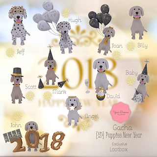 {YD} Puppies New Year | by *Your Dreams*