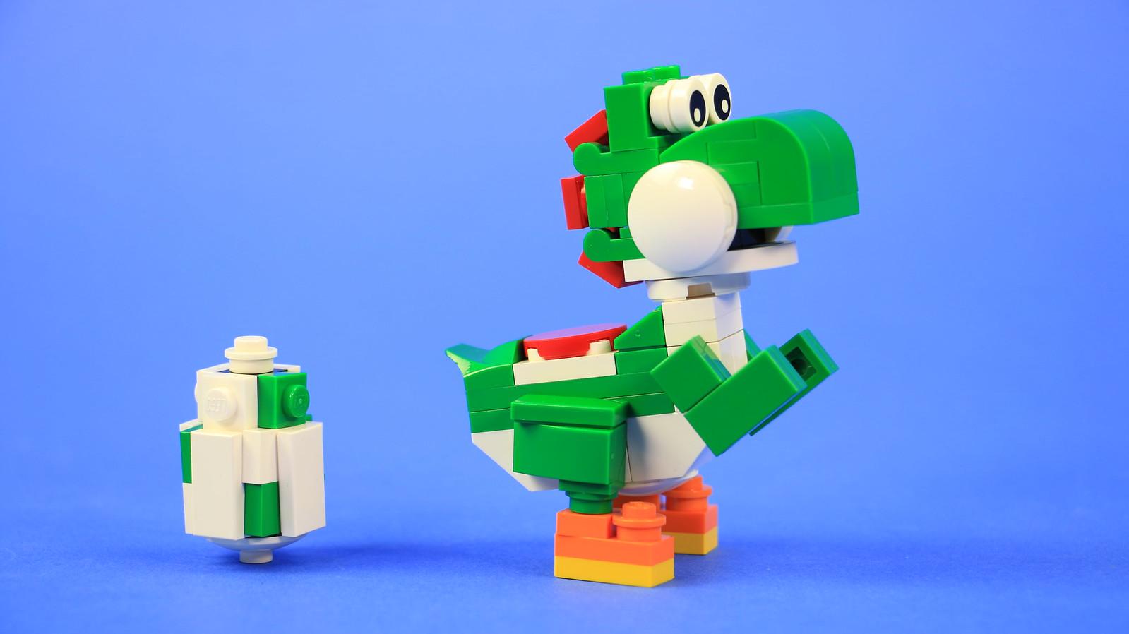 Build Your Own Lego Yoshi Baby Mario Yoshi Eggs Instructions