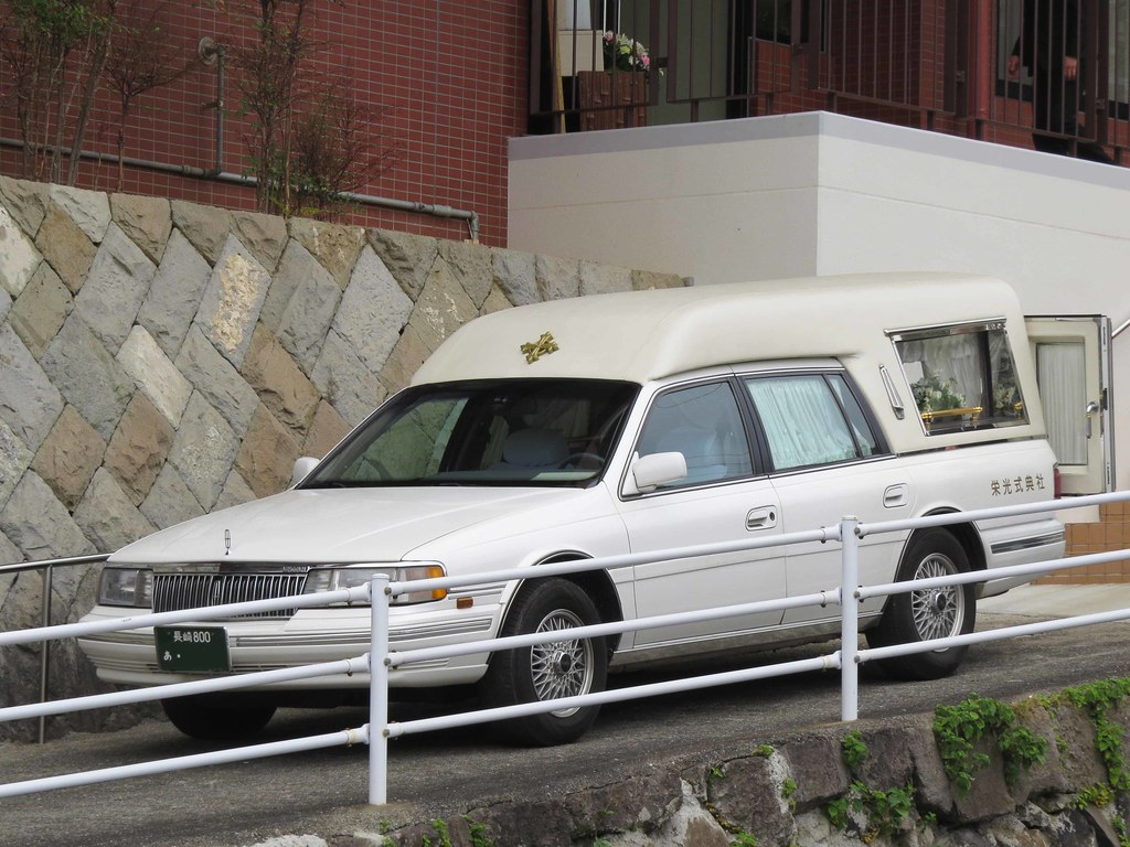 Lincoln Town Car Hearse Evan Hayden Flickr
