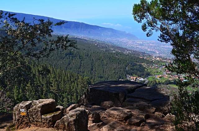 Rock viewpoint, Orotava Valley, Tenerife