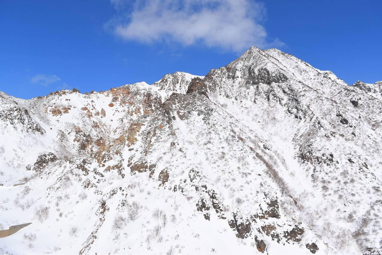 冬の那須岳・朝日岳