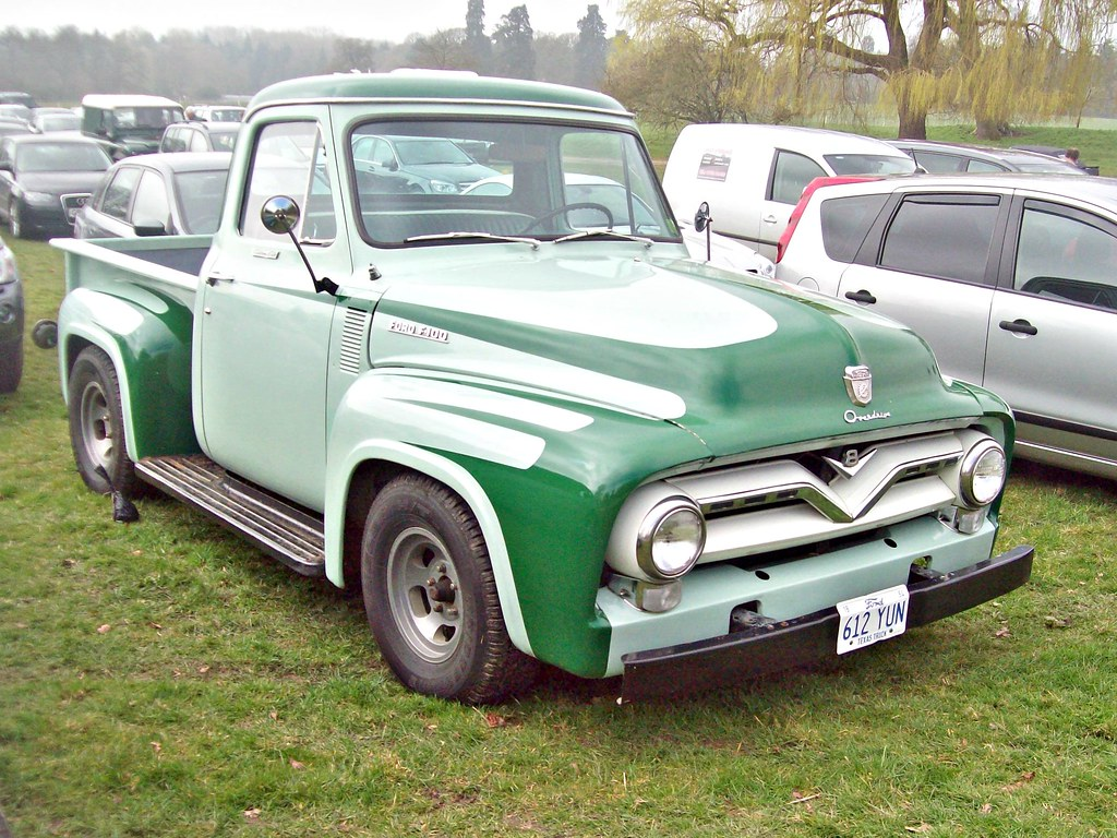 161 Ford F100 Pick Up 2nd Gen 1954 Flickr By Robertknight16