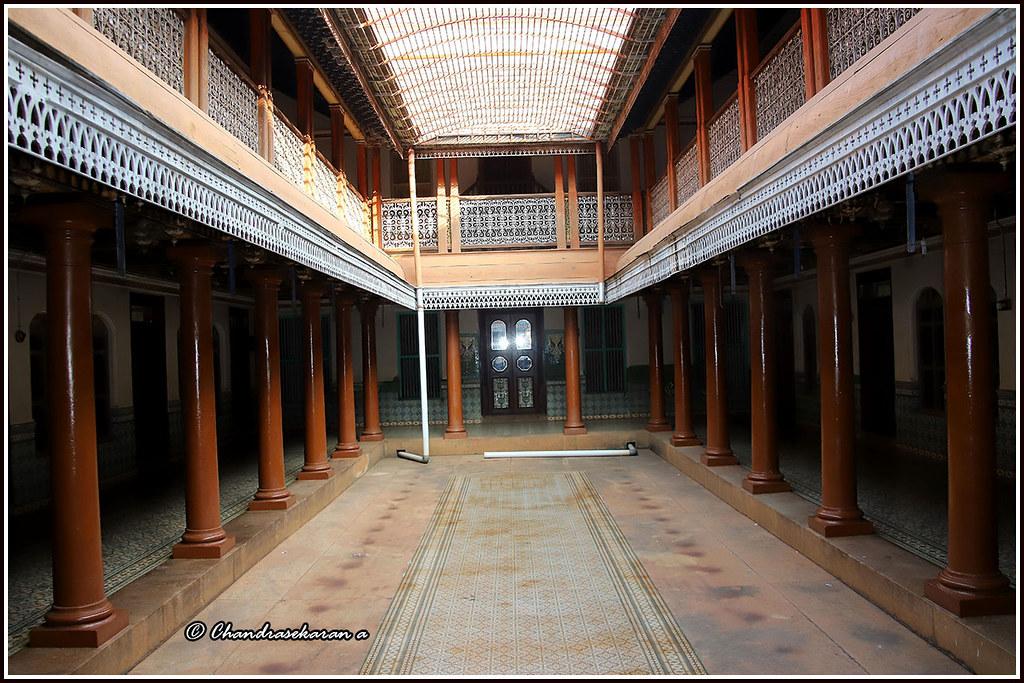 7540 - central courtyard , Chettinad House, Karaikudi | Flickr