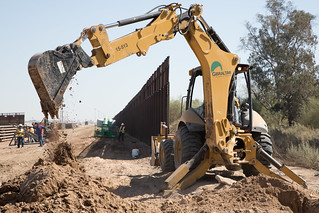 El Centro Border Wall Replacement Project | by CBP Photography