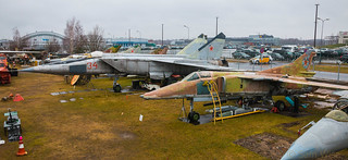 Riga Aviation Museum MiG Fighters | by Sam Wise