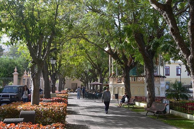 Main plaza, La Orotava, Tenerife